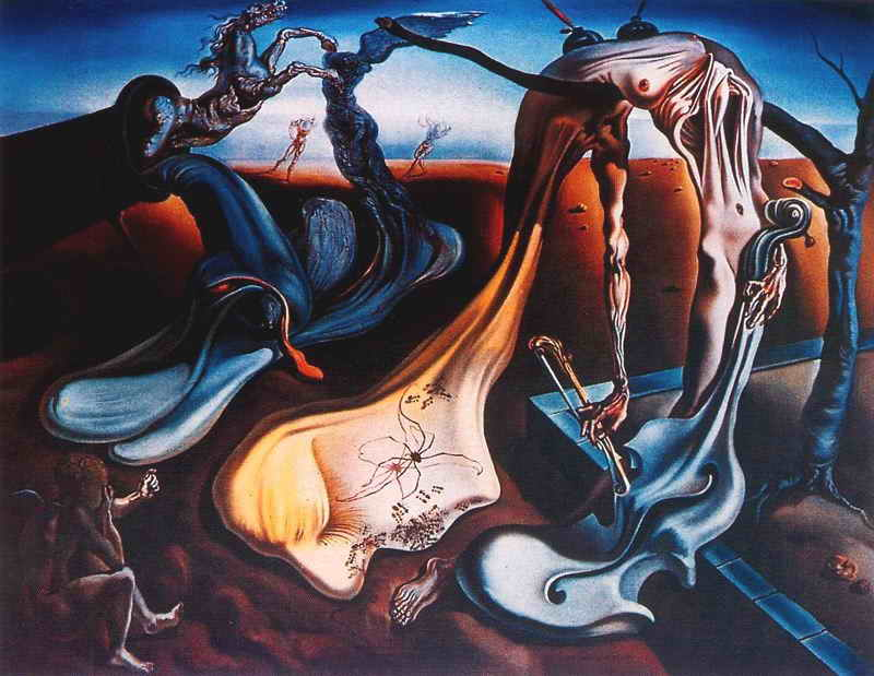 Salvador Dali картина