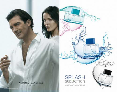 Туалетная вода Splash Blue Seduction for Women Antonio Banderas для женщин