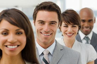 Красивая улыбка в бизнесе