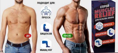 Для рельефа мышц Muscles Relief до и после