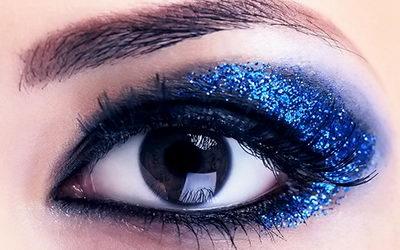 Ультрафиолетовые веки - новинка в индустрии красоты